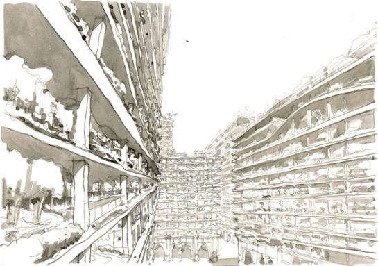 cityscape/ made in sevilla/ 2012/30x20 cm/ cityscape